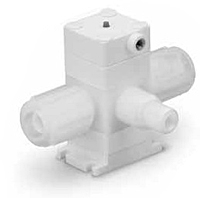 Ultrahigh-Purity Fluoropolymer Diaphragm Valves